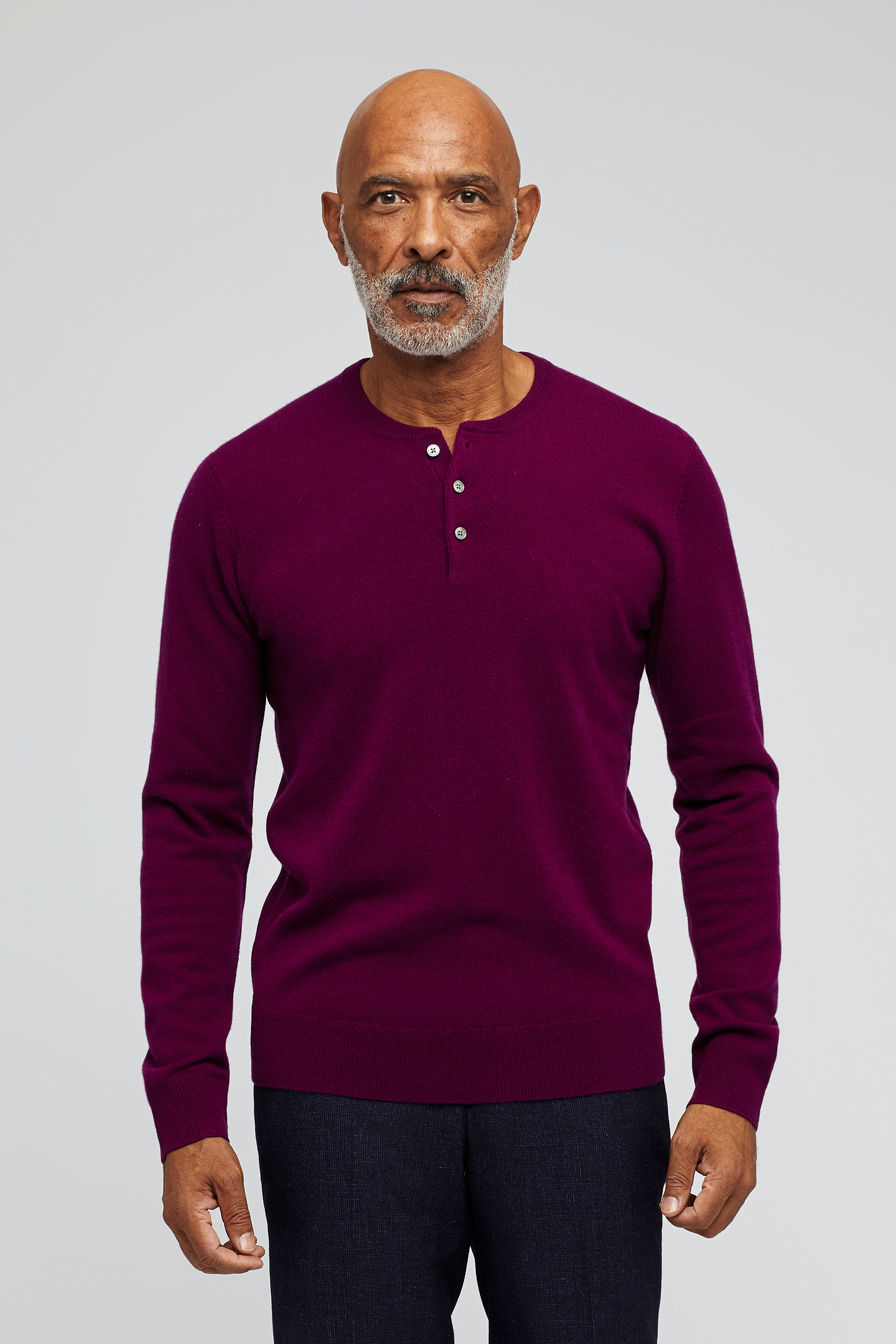 Cashmere Henley Sweater
