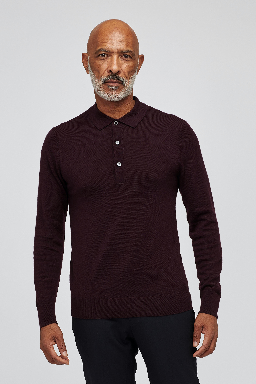 Merino Sweater Polo