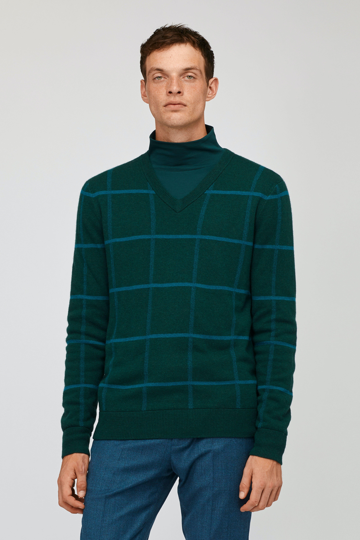 Lightweight Wool V-Neck Sweater