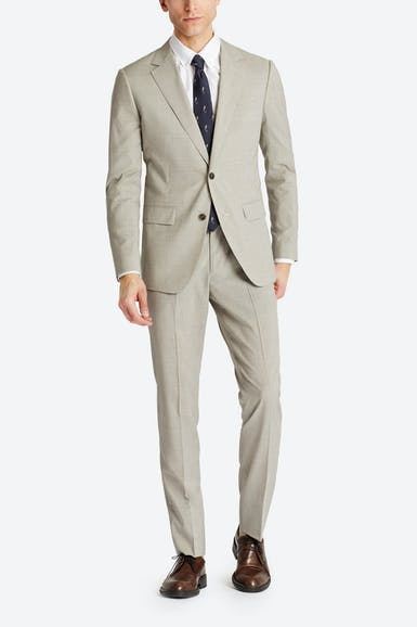 Lightweight Italian Wool Suit Jacket