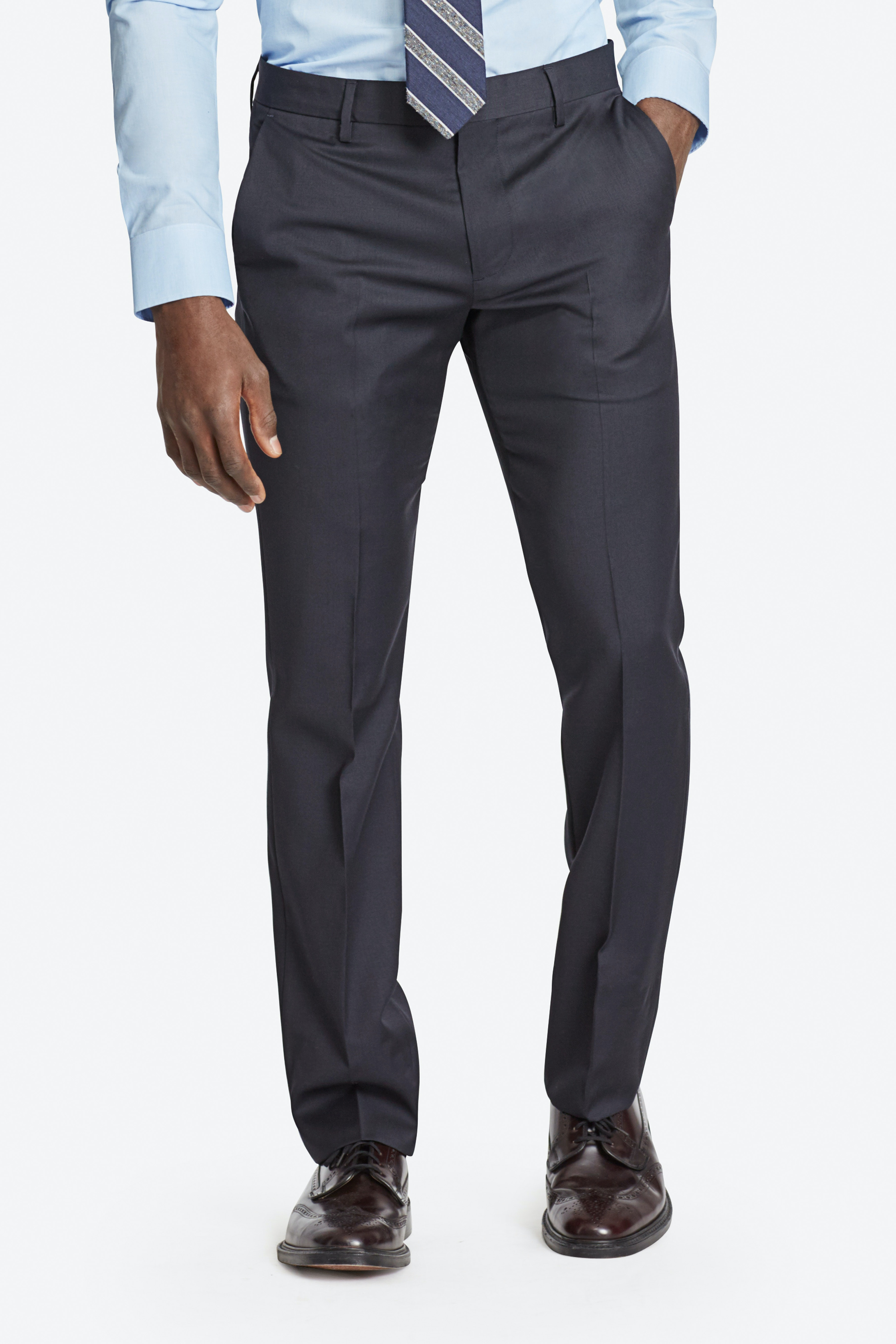 Foundation Italian Wool Suit Pants thumbnail