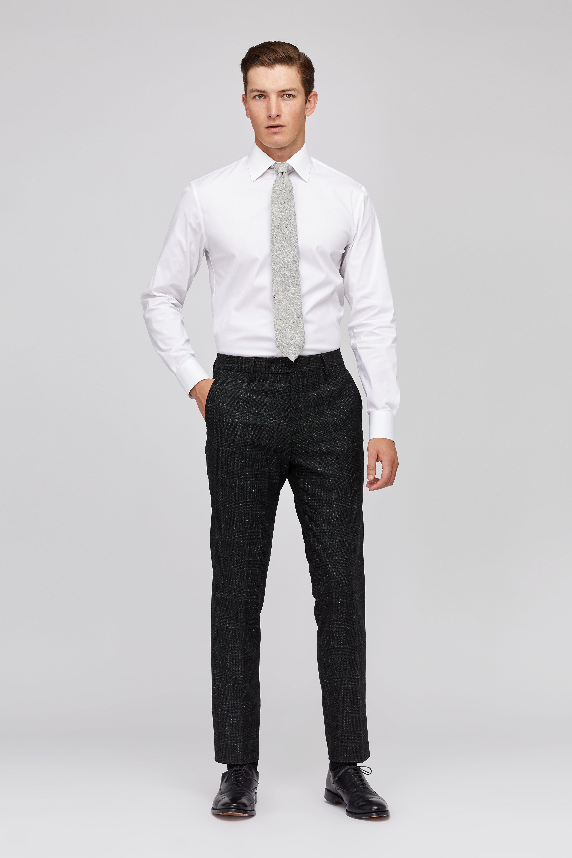 Premium Italian Wool Suit Pants thumbnail