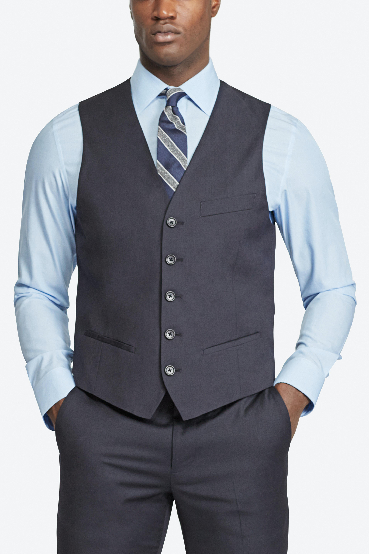 The Foundation Italian Wool Suit Vest thumbnail