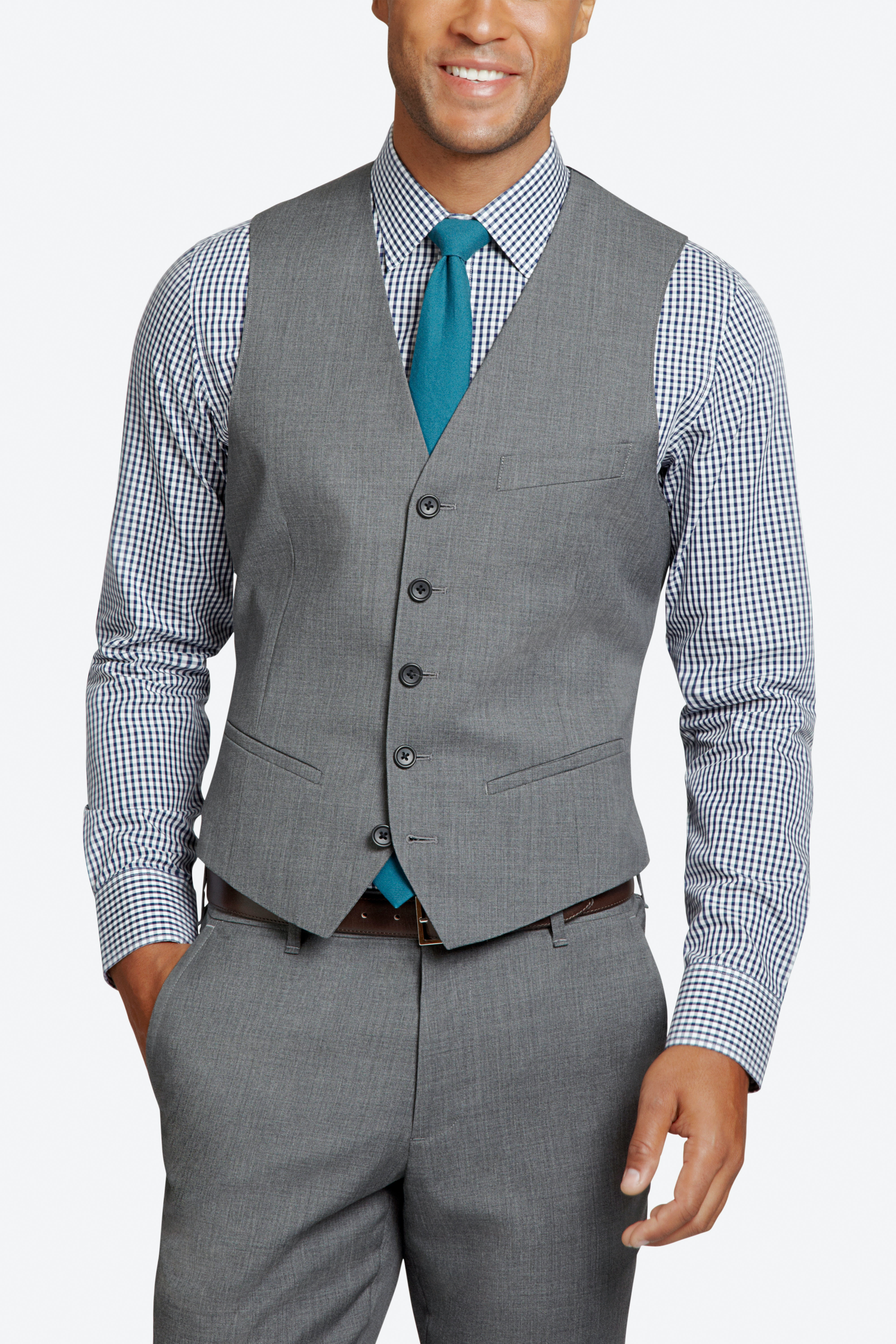 The Foundation Italian Wool Suit Vest