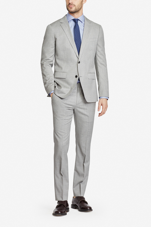 Foundation Italian Wool Suit Jacket
