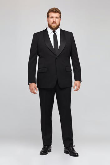 Capstone Italian Wool Tuxedo Jacket Extended Sizes