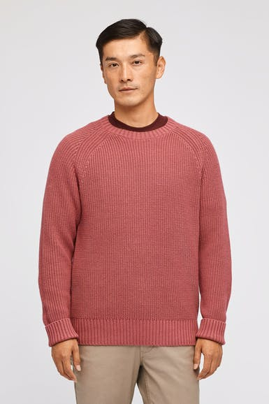 Cotton Cashmere Raglan Sweater