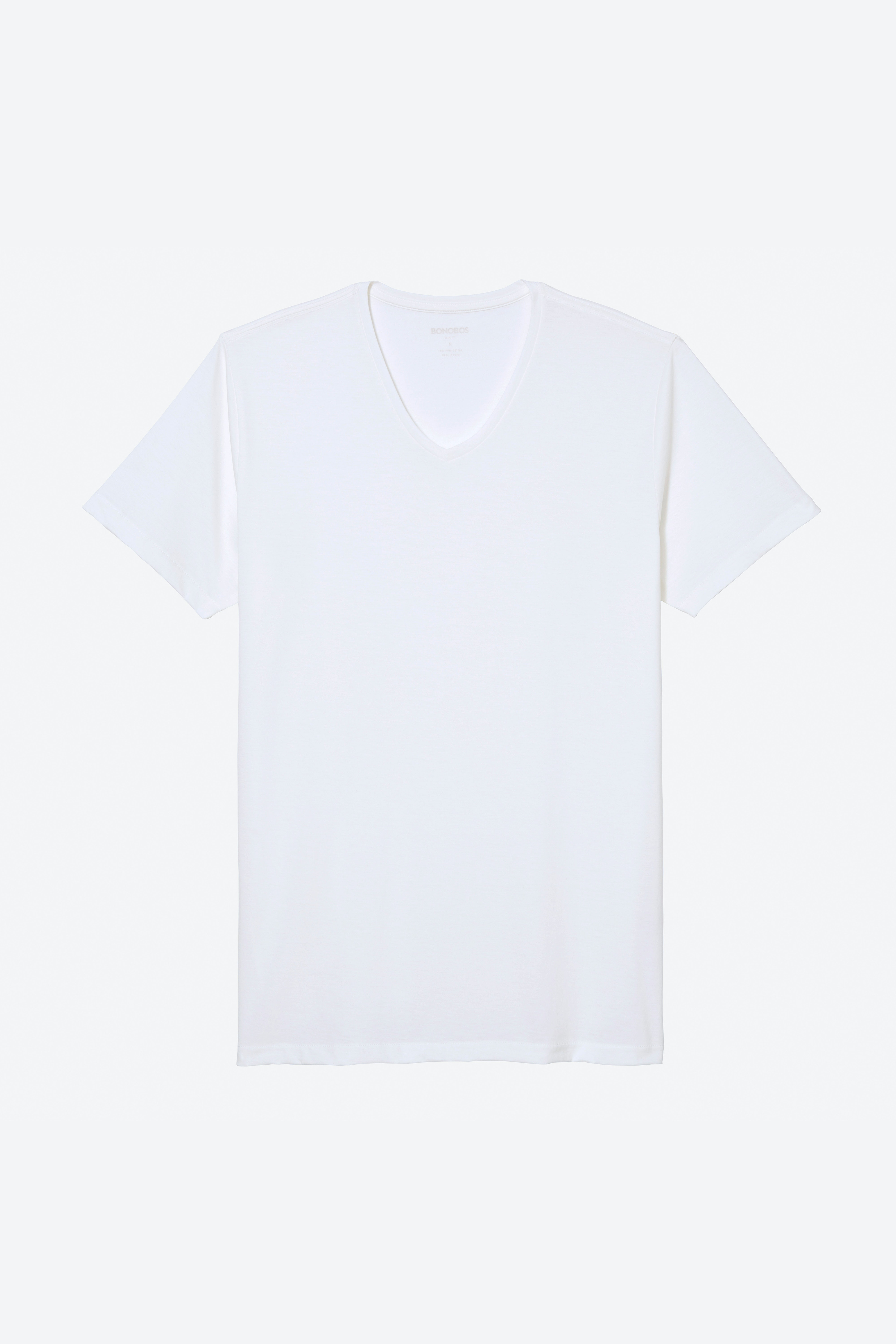 Superfine V-Neck Tee