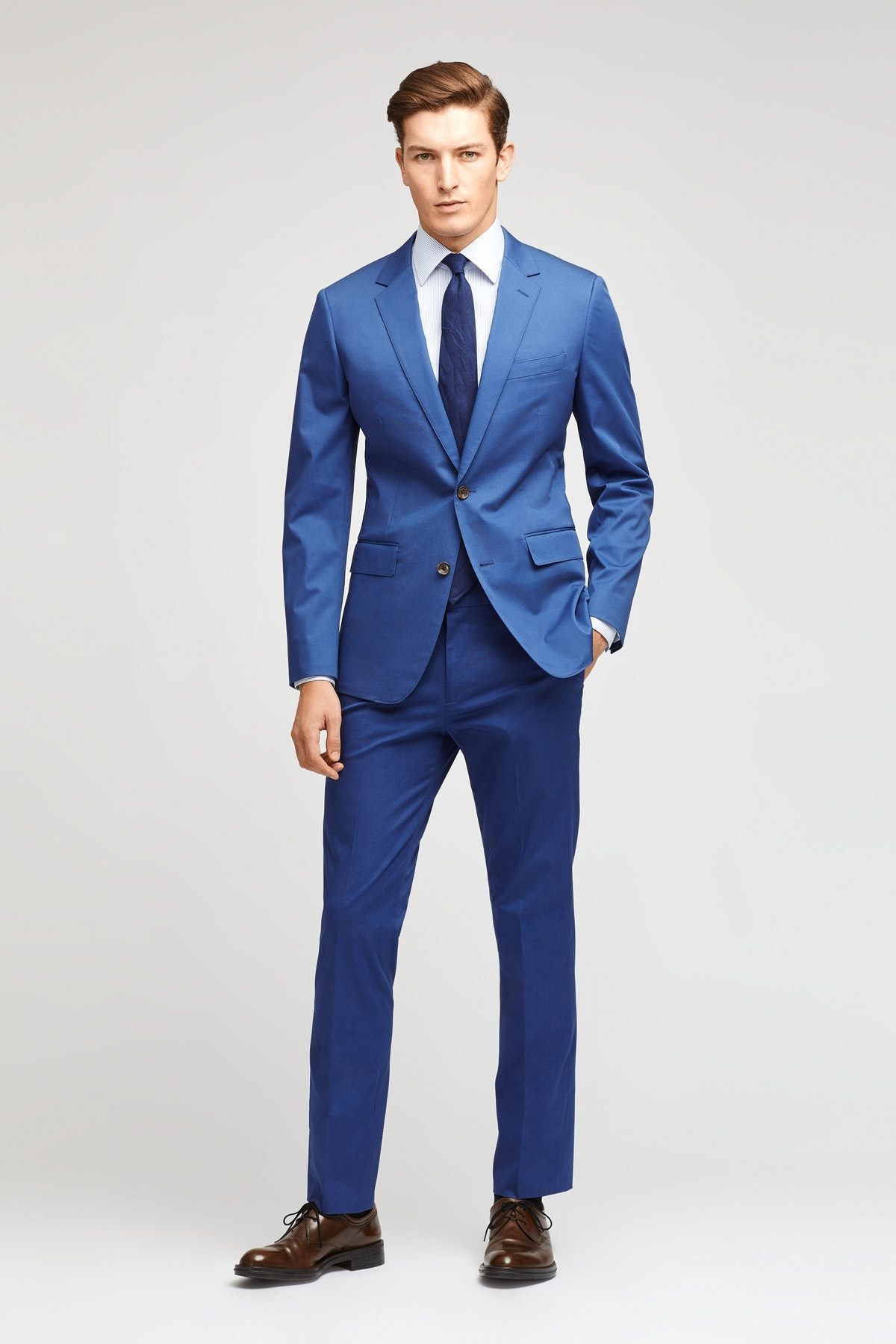 Jetsetter Stretch Italian Cotton Suit