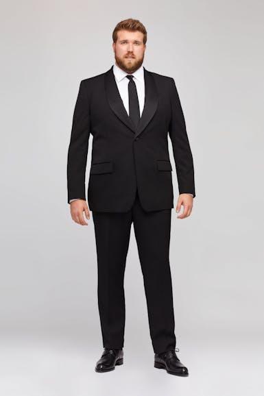 Capstone Italian Wool Tuxedo Extended Sizes