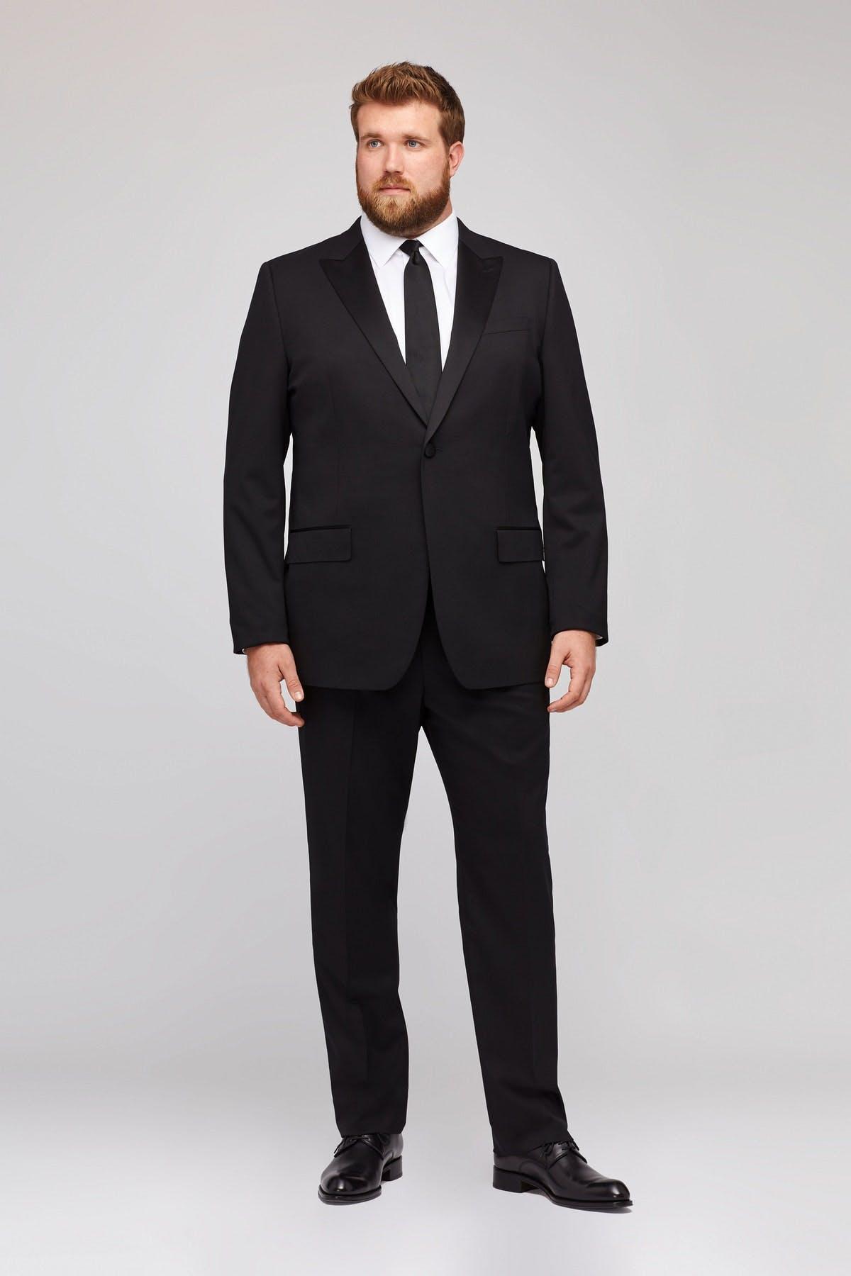 Jetsetter Stretch Italian Wool Tuxedo Extended Sizes