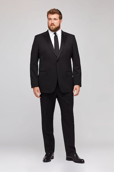 Jetsetter Stretch Italian Wool Tuxedo Extended Sizes