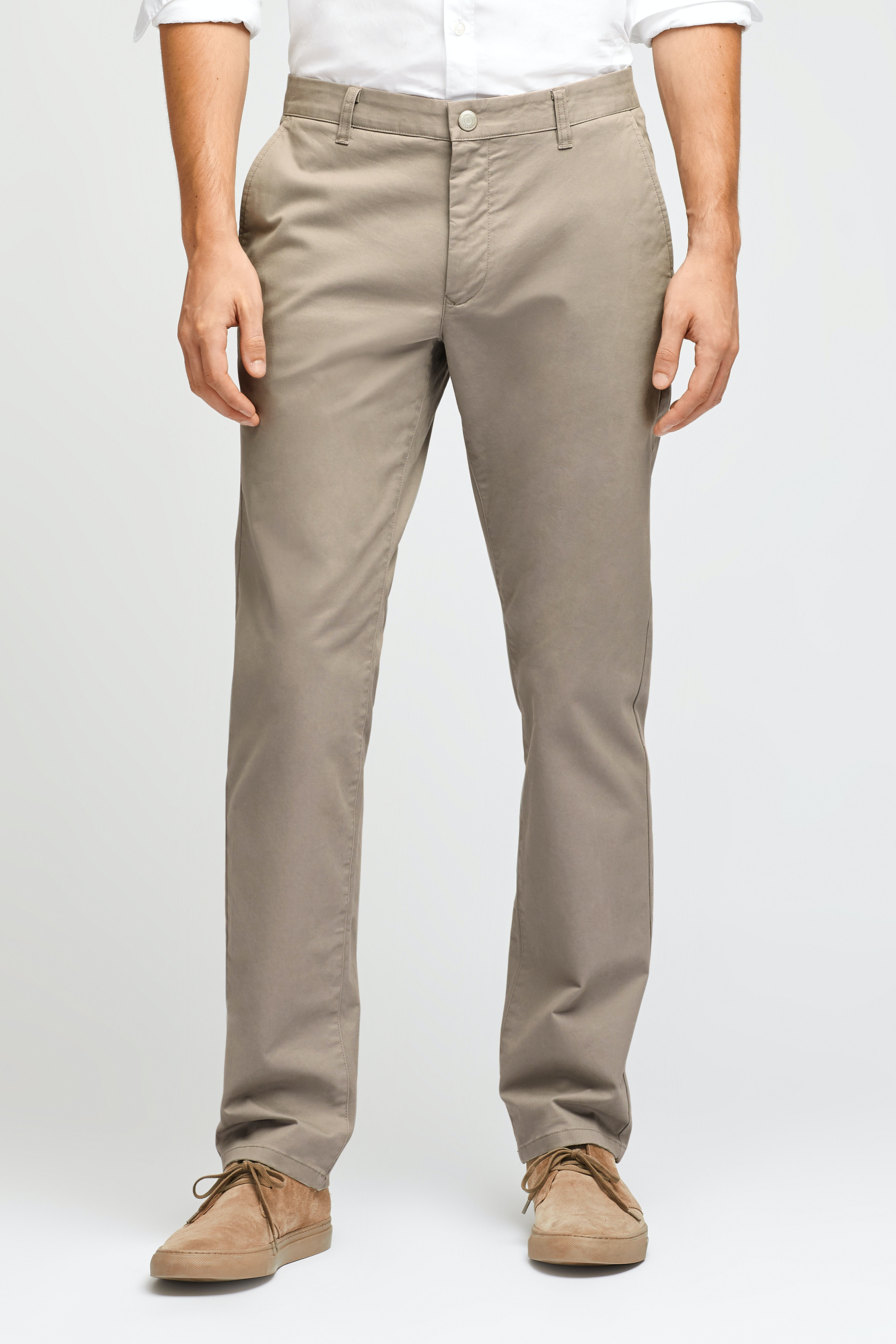 Stretch Washed Chinos - Relaxed Fit
