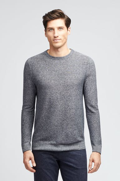 Cotton Linen Crew Neck