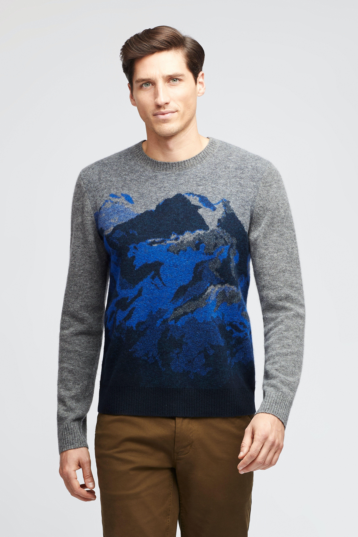 Mountain Range Crew Neck Sweater