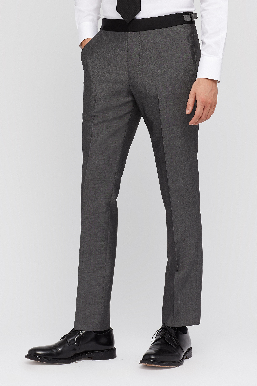 Capstone Italian Wool Tuxedo Pant