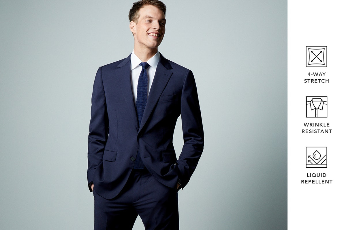 Editorial photo for Italian Performance Suits category
