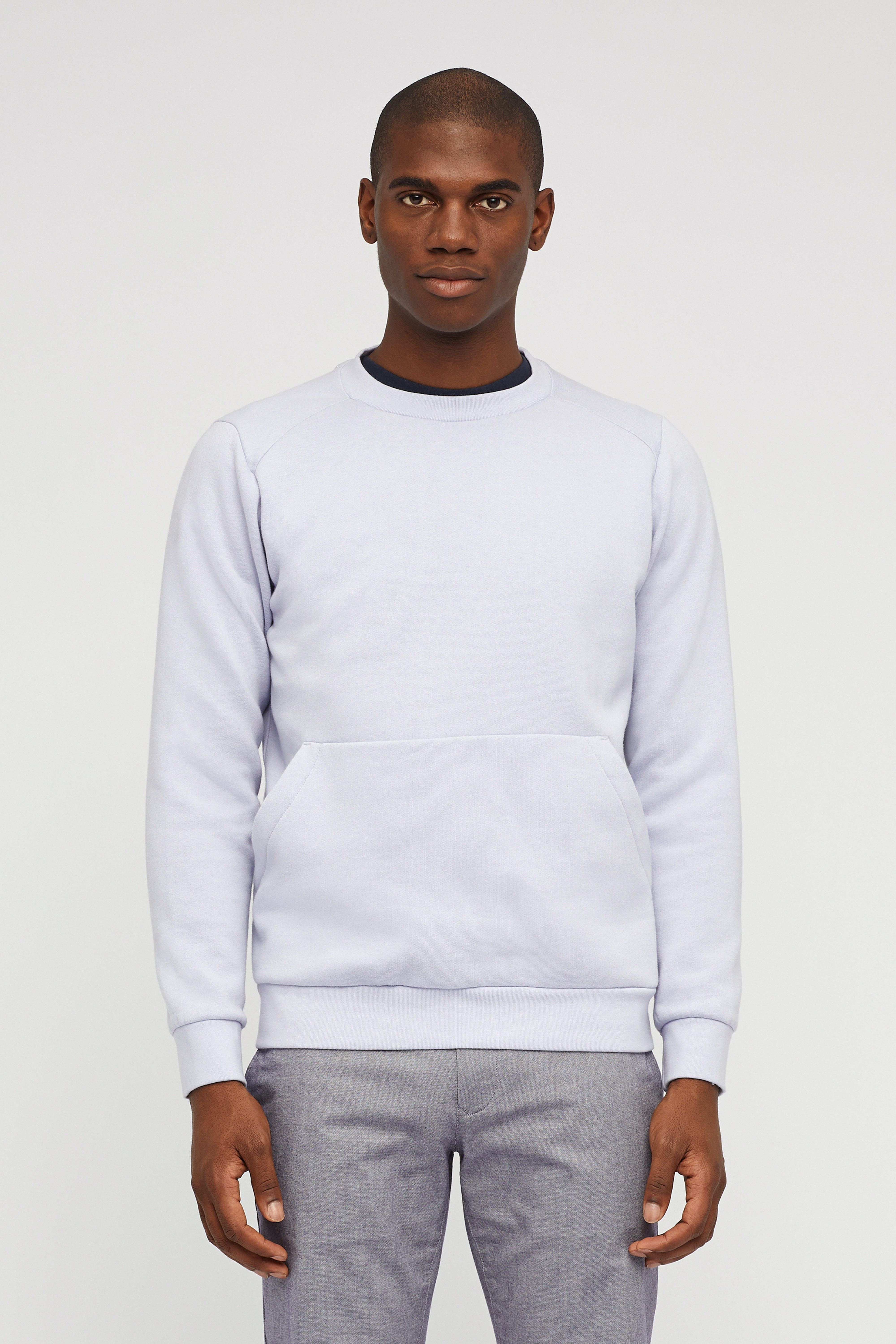 Brushed Fleece Crew Neck