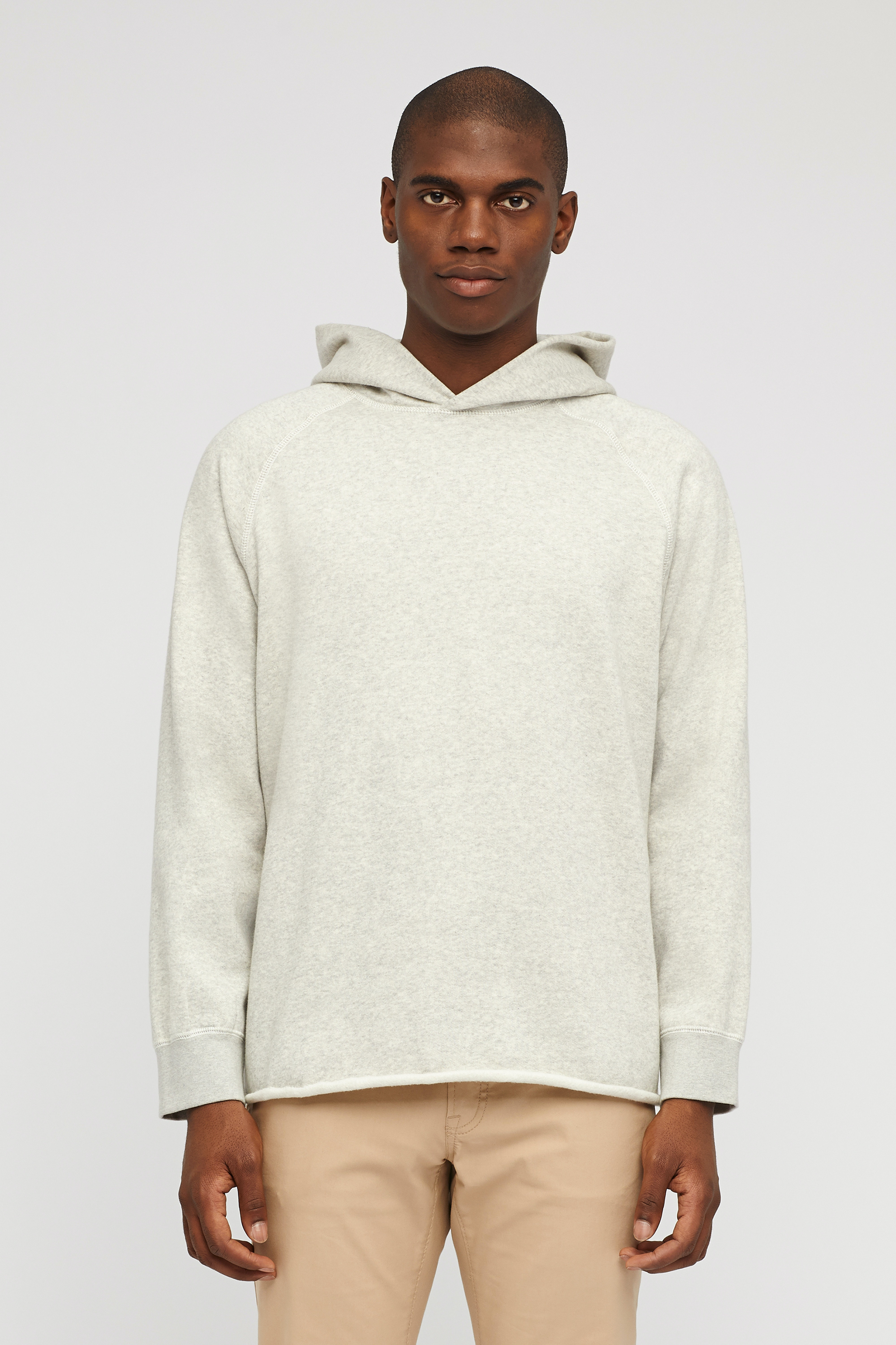 Brushed Fleece Popover Hoodie