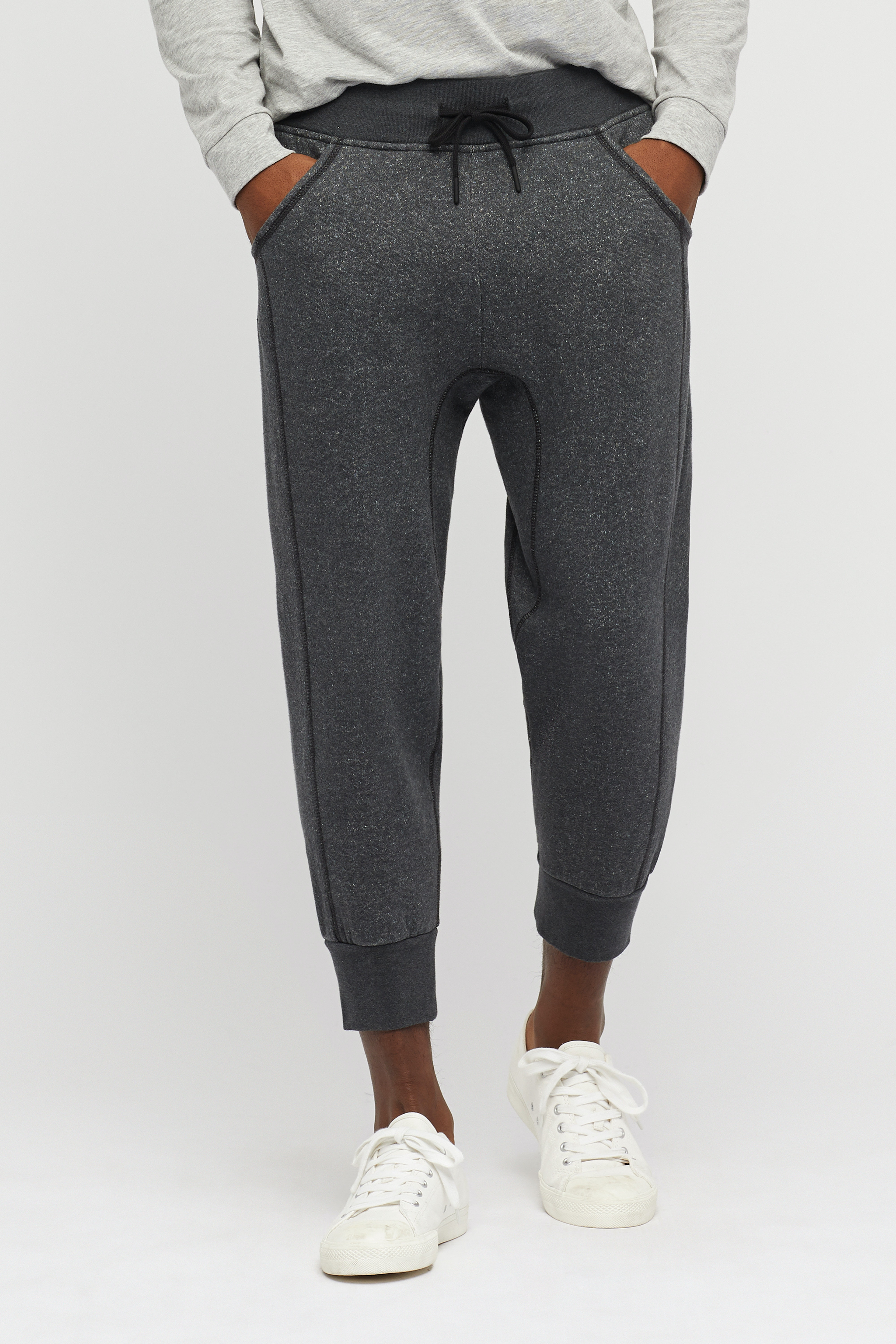 Compact French Terry Cropped Sweatpants