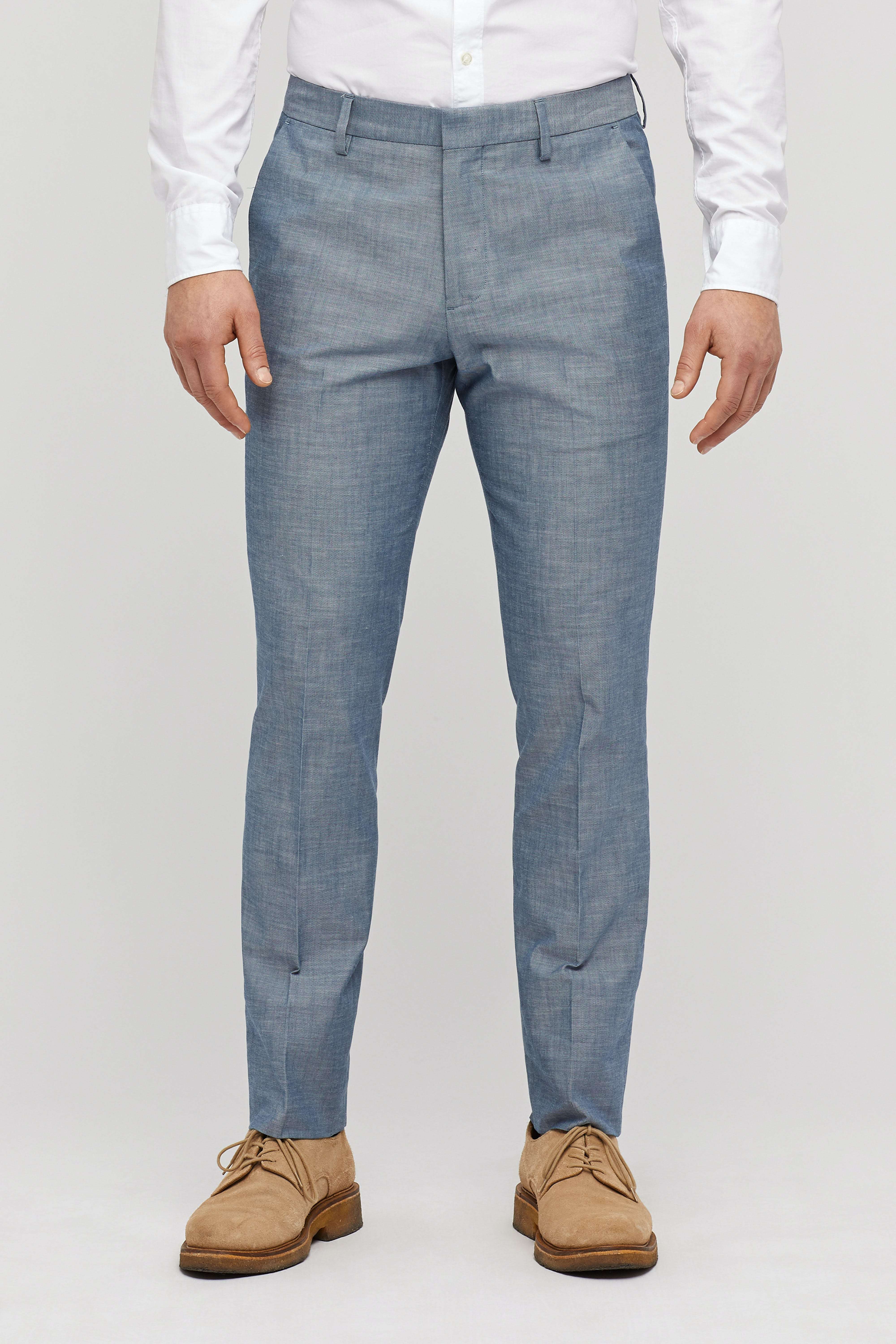 Foundation Chambray Suit Pant