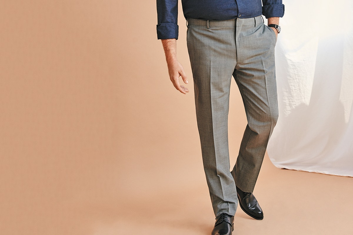 Header showing products for the Dress Pants category