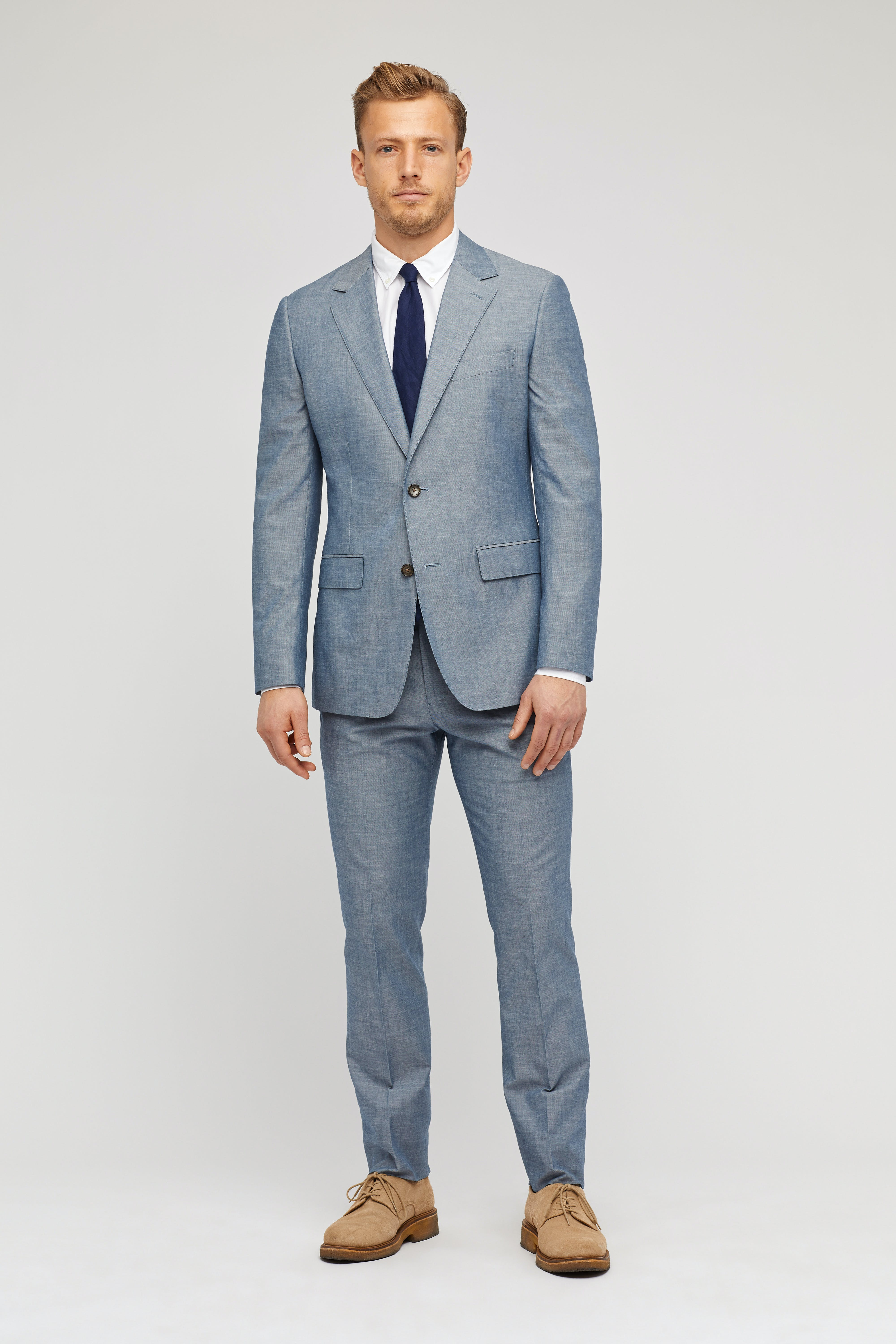 The Foundation Chambray Suit