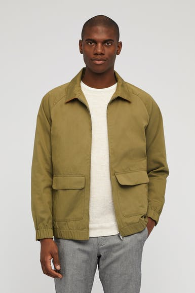 The Raglan Bomber Jacket