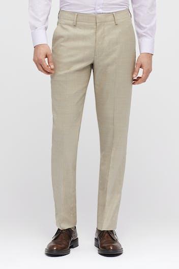 Italian Stretch Wool Dress Pants