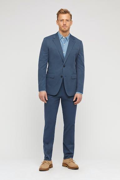 Lightweight Stretch Italian Cotton Suit
