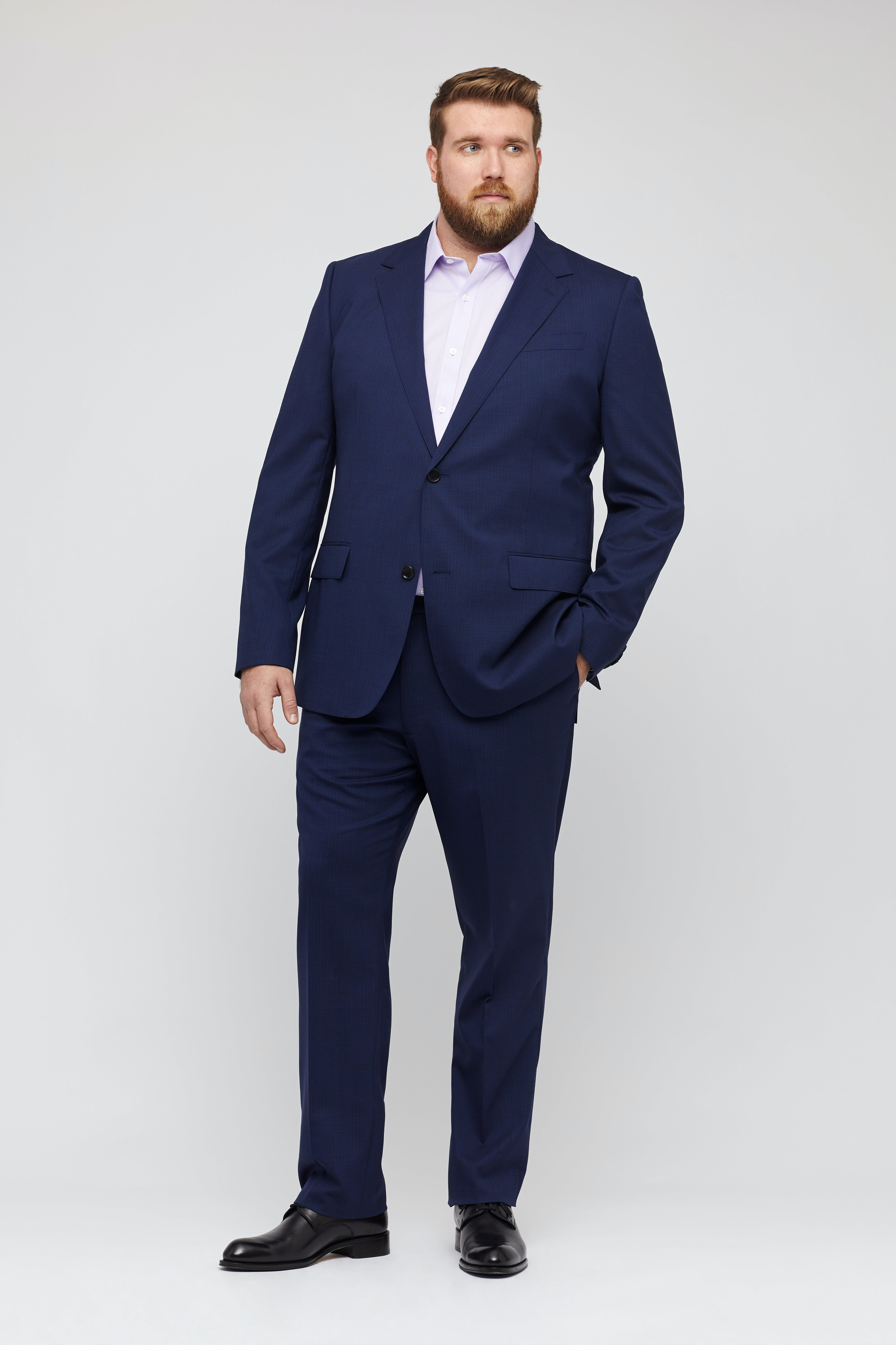 Jetsetter Stretch Wool Suit Jacket Extended Sizes