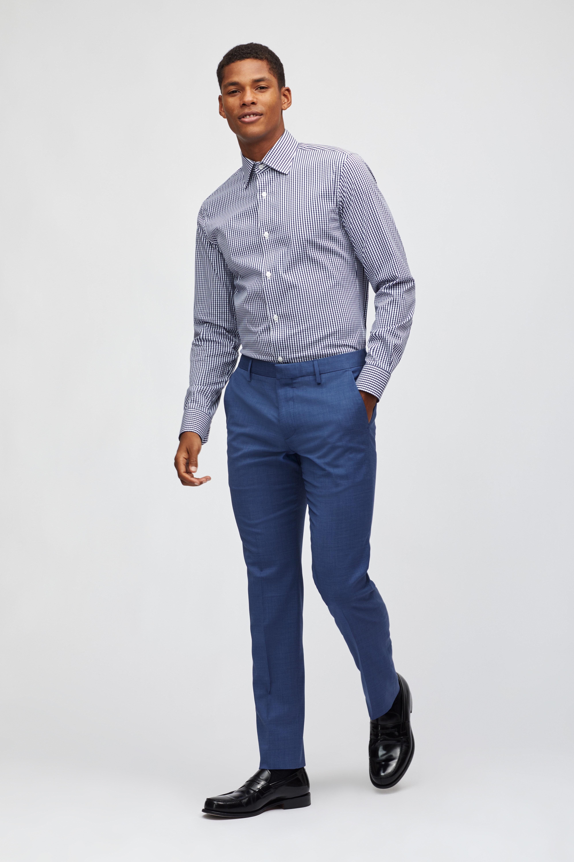 Lightweight Italian Wool Suiting Pant thumbnail