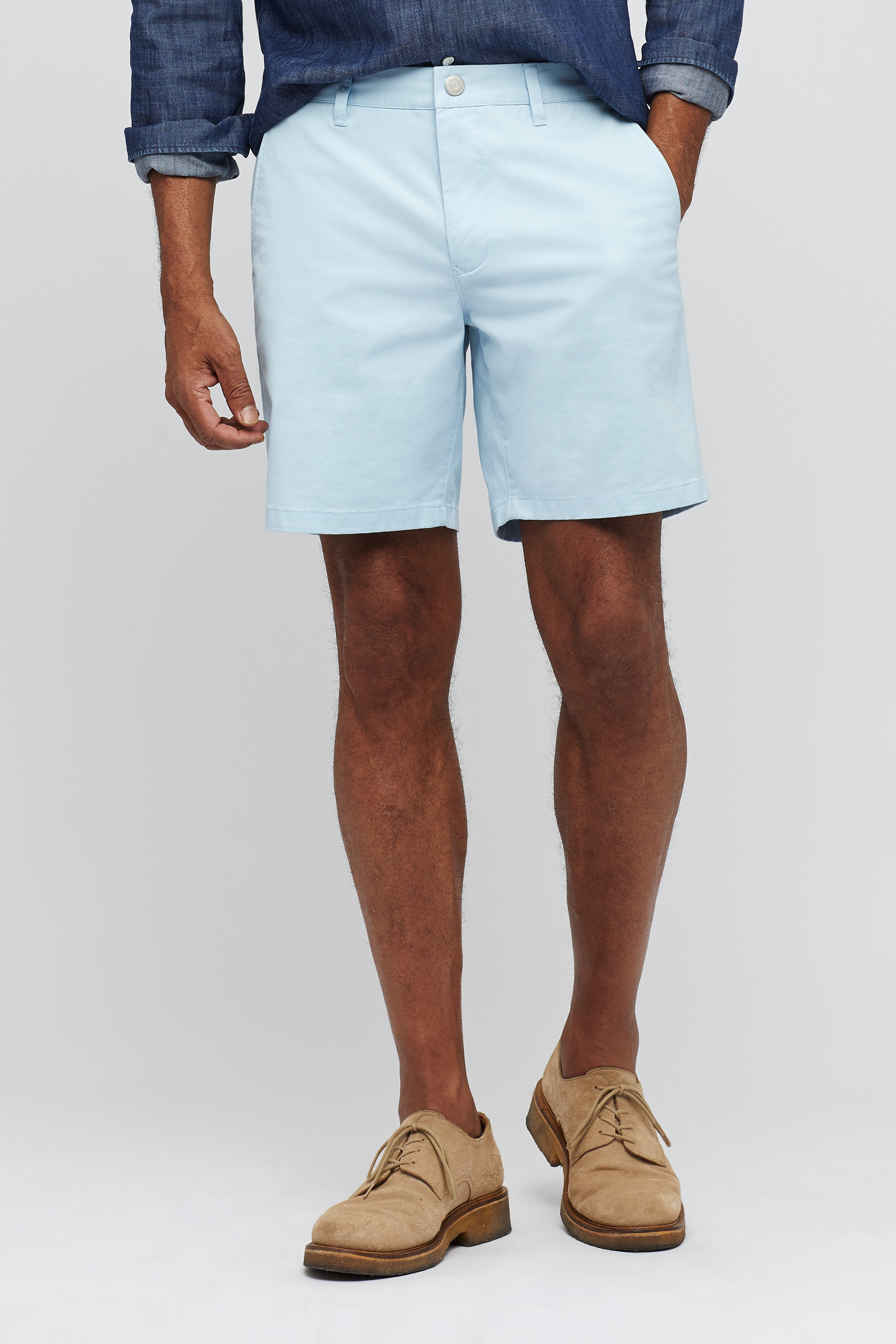Stretch Washed Chino Shorts