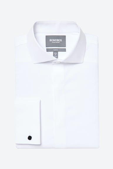 Stretch Tuxedo Shirt Extended Sizes