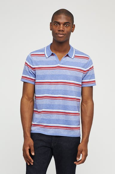 Retro Knit Polo