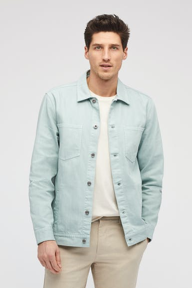 The Denim Cargo Jacket