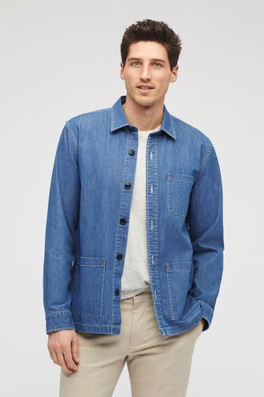 The Denim Chore Jacket
