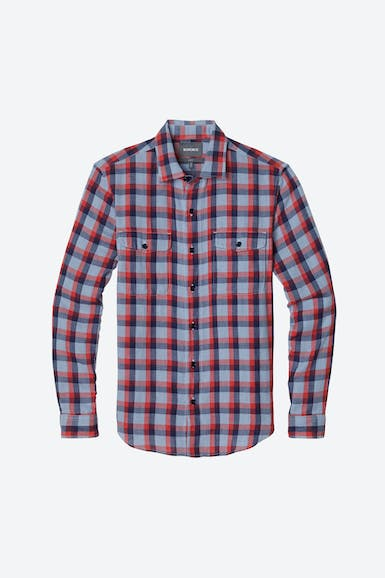 Double Faced Button-Down Shirt