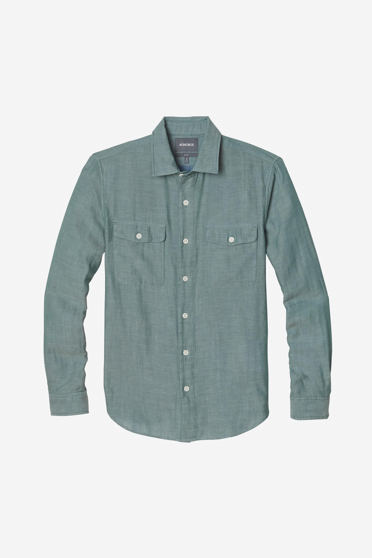Double Faced Button-Down Shirt