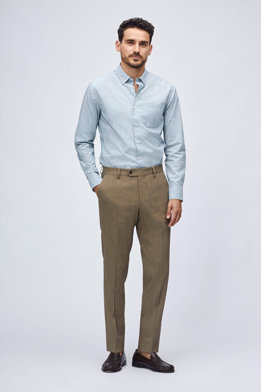 Lightweight Italian Linen Suit Pant thumbnail