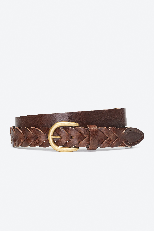 Braided End Belt