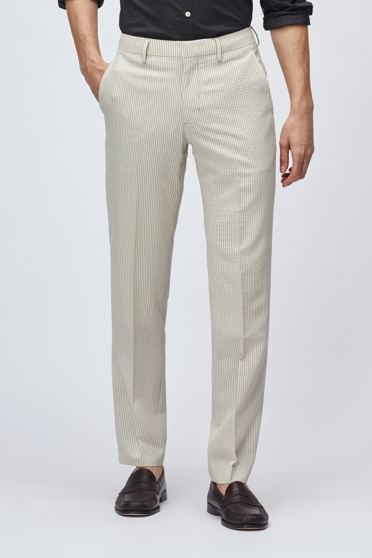 Stretch Wool Dress Pants