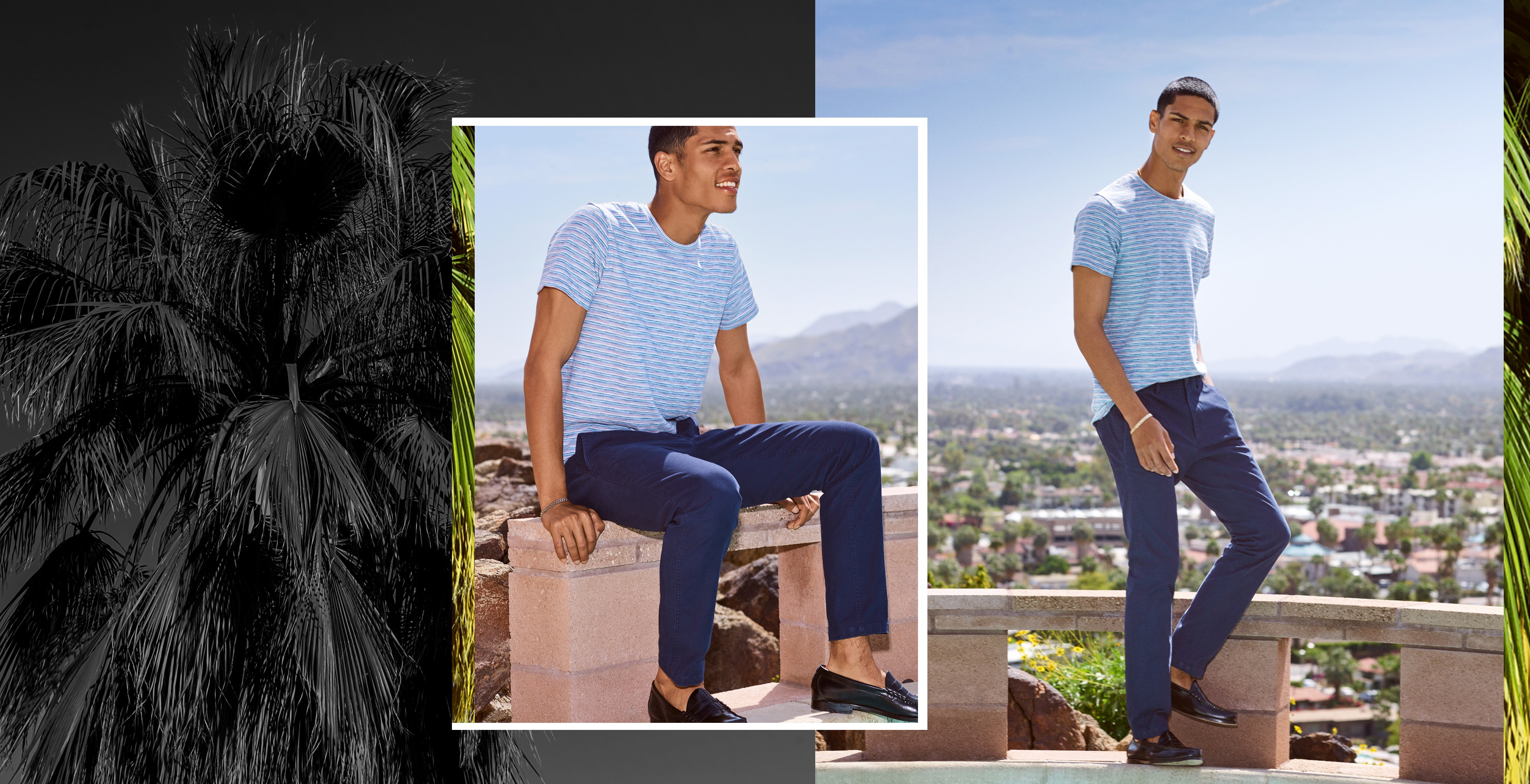 Meet your weekend chinos. Casual, comfortable & up for whatever.