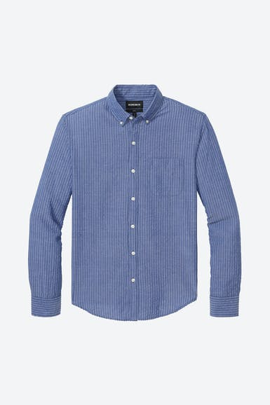 Lightweight Button-Down Shirt Extended Sizes