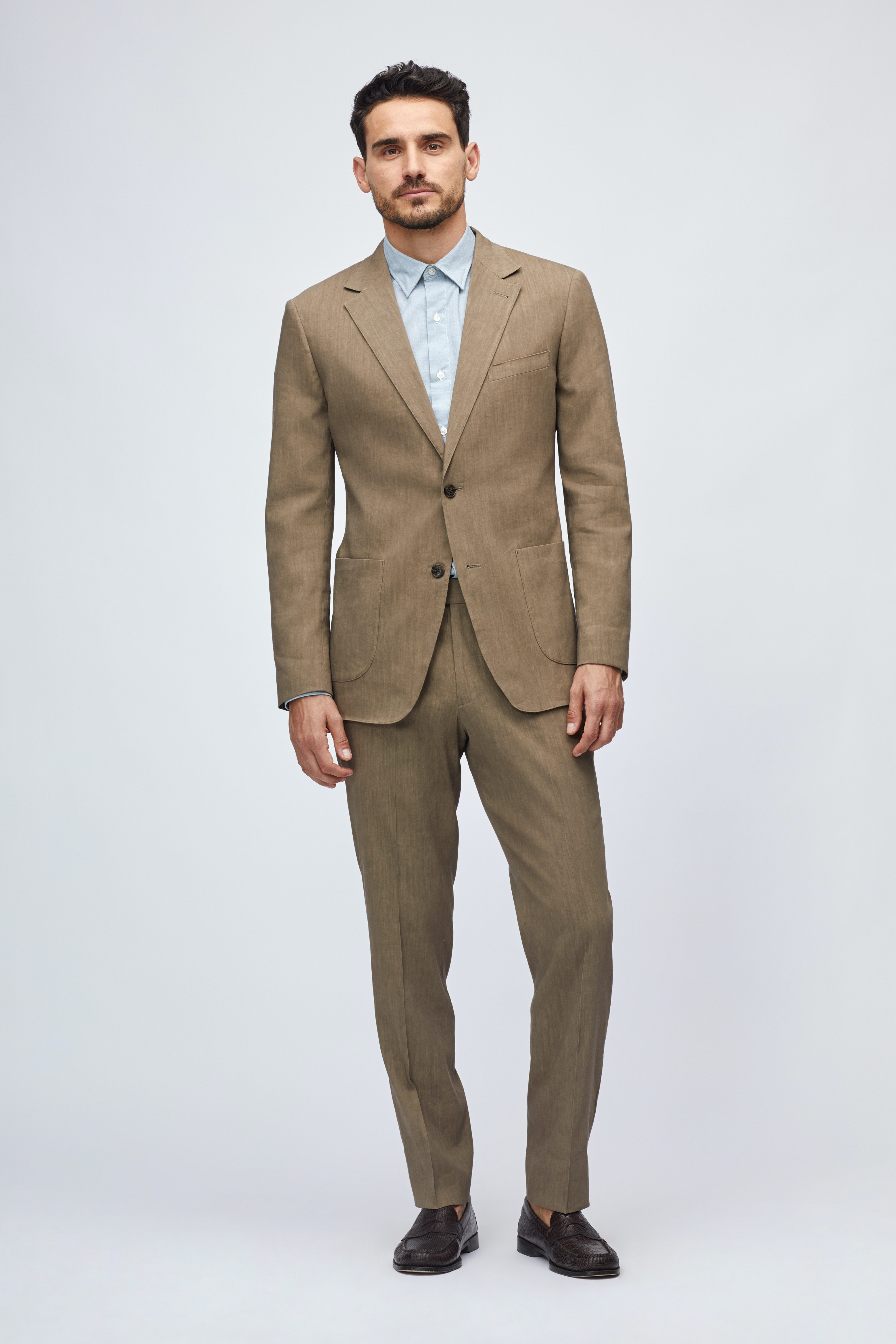 Lightweight Italian Linen Suit Jacket thumbnail
