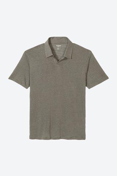 Retro Linen Polo