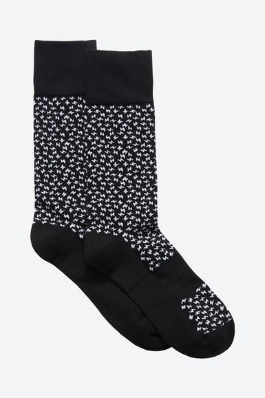 Cotton Blend Dress Socks