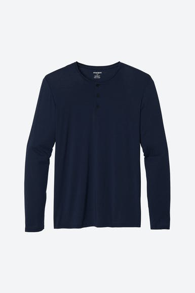 Jetsetter Long Sleeve Henley