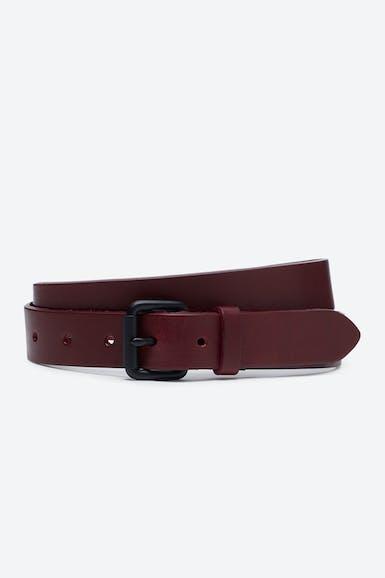 Monochrome Leather Belt