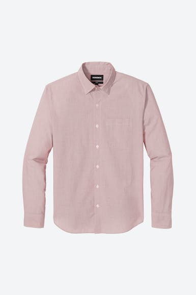 Washed Button-Down Shirt Extended Sizes